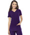 Photograph of Break on Through Women's Shaped V-Neck Top Purple 20710-EGPH