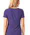 Photograph of Break on Through Women's Pitter-Pat Shaped V-Neck Top Purple 20710-GRP