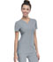 Photograph of Break on Through Women's Shaped V-Neck Top Gray 20710-GRXH