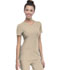 Photograph of HeartSoul Break on Through Women's Pitter-Pat Shaped V-Neck Top Khaki 20710-KHAH