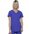 Photograph of Break on Through Women's Shaped V-Neck Top Purple 20710-PUPL