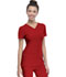Photograph of Break on Through Women's Pitter-Pat Shaped V-Neck Top Red 20710-RDHH