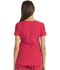 Photograph of Break on Through by HeartSoul Women's Pitter-Pat Shaped V-Neck Top Red 20710-SBRH