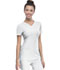 Photograph of Break on Through Women's Pitter-Pat Shaped V-Neck Top White 20710-WHIH