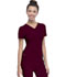 Photograph of Break on Through Women's Shaped V-Neck Top Red 20710-WINH