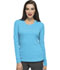 Photograph of HeartSoul Underscrub Knit Tees Women's Social Butter-Fly Underscrub Knit Tee Blue 20800-TURH