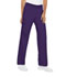 Photograph of Cherokee Flexibles Women\'s Mid Rise Knit Waist Pull-On Pant Purple 2085P-GRPB