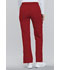 Photograph of Flexibles Women's Mid Rise Knit Waist Pull-On Pant Red 2085-REDB