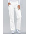 Photograph of Flexibles Women's Mid Rise Knit Waist Pull-On Pant White 2085-WHTS