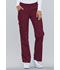 Photograph of Cherokee Flexibles Women\'s Mid Rise Knit Waist Pull-On Pant Red 2085-WNEB
