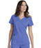 Photograph of HeartSoul Head Over Heels Women's Wrapped Up V-Neck Top Blue 20971A-CIE