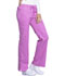 Photograph of Luxe Women's Low Rise Flare Leg Drawstring Cargo Pant Purple 21100-BBOD