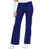 Photograph of Luxe Women Low Rise Flare Leg Drawstring Cargo Pant Blue 21100-GABV
