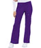 Photograph of Luxe Women's Low Rise Flare Leg Drawstring Cargo Pant Purple 21100-GRPV