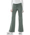 Photograph of Cherokee Luxe Women's Low Rise Flare Leg Drawstring Cargo Pant Green 21100-OLIV
