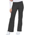 Photograph of Cherokee Luxe Women's Low Rise Flare Leg Drawstring Cargo Pant Gray 21100-PEWV