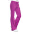 Photograph of Cherokee Luxe Women's Low Rise Flare Leg Drawstring Cargo Pant Pink 21100-PVIV
