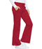 Photograph of Luxe Women's Low Rise Flare Leg Drawstring Cargo Pant Red 21100-REDV
