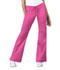 Photograph of Cherokee Luxe Women's Low Rise Flare Leg Drawstring Cargo Pant Pink 21100-ROSV