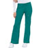 Photograph of Cherokee Luxe Women's Low Rise Flare Leg Drawstring Cargo Pant Green 21100-TEAV