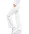 Photograph of Luxe Women Low Rise Flare Leg Drawstring Cargo Pant White 21100-WHTV