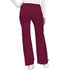 Photograph of Cherokee Luxe Women's Low Rise Flare Leg Drawstring Cargo Pant Red 21100-WINV