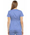 Photograph of Luxe Women Empire Waist Mock Wrap Top Blue 21701-CELV