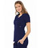 Photograph of Luxe Women Empire Waist Mock Wrap Top Blue 21701-NAVV