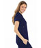 Photograph of Luxe Women's Empire Waist Mock Wrap Top Blue 21701-NAVV