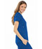 Photograph of Cherokee Luxe Women's Empire Waist Mock Wrap Top Blue 21701-ROYV