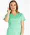 Photograph of Cherokee Luxe Women's Empire Waist Mock Wrap Top Green 21701-SPCT