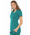Photograph of Luxe Women's Empire Waist Mock Wrap Top Green 21701-TEAV