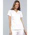Photograph of Cherokee Luxe Women's Empire Waist Mock Wrap Top White 21701-WHTV