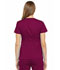 Photograph of Luxe Women's Empire Waist Mock Wrap Top Red 21701-WINV