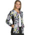 Photograph of Cherokee Flexibles Women's Zip Front Knit Panel Warm-Up Jacket Bouquet Me Not 2315C-BOMN
