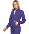 Photograph of Infinity Women's Zip Front Warm-Up Jacket Purple 2391A-GRP
