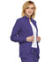 Photograph of Infinity Women Zip Front Jacket Purple 2391A-GRP