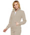 Photograph of Infinity Women's Zip Front Warm-Up Jacket Khaki 2391A-KAK