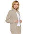 Photograph of Infinity Women Zip Front Jacket Khaki 2391A-KAK