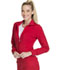 Photograph of Infinity Women Zip Front Jacket Red 2391A-RED