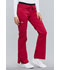 Photograph of WW Core Stretch Women Low Rise Drawstring Cargo Pant Red 24001-CERI