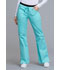 Photograph of WW Core Stretch Women's Low Rise Drawstring Cargo Pant Blue 24001-TAST