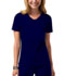 Photograph of WW Core Stretch Women's V-Neck Top Blue 24703-NAVW