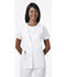 Photograph of Professional Whites Women's Lace Trimmed Vest White 2610-WHTD