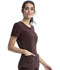 Photograph of Infinity Women's Round Neck Top Brown 2624A-ESPS