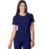 Photograph of Infinity Women's Round Neck Top Blue 2624A-GAB