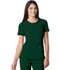 Photograph of Infinity Women's Round Neck Top Green 2624A-HNPS