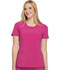 Photograph of Infinity Women's Round Neck Top Purple 2624A-POBR