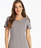 Photograph of Cherokee Infinity Women's Round Neck Top Gray 2624A-STPS