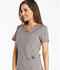 Photograph of Infinity by Cherokee Women's Round Neck Top Gray 2624A-STPS